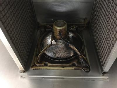 掃除した換気扇
