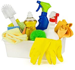 掃除用具の集合