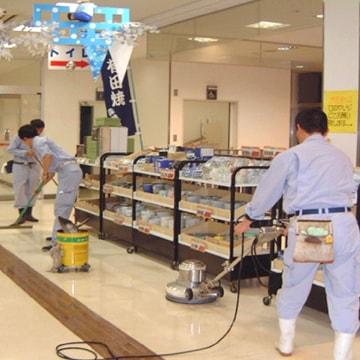 定期清掃・表面洗浄作業