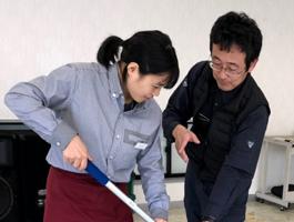 静城産業 求人情報 研修風景